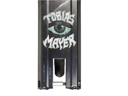 Addict Deck Blacksmith Tobias Mayer Black 590mm