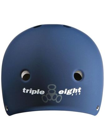 Kask Triple Eight Brainsaver Blue Rubber L/XL