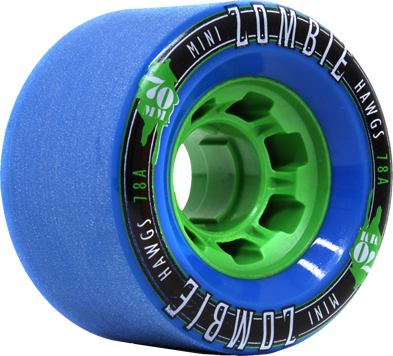 MINI ZOMBIES 70mm78a blue green core