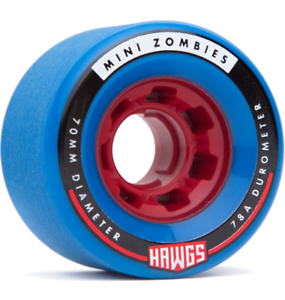 MINI ZOMBIES 70mm78a blue red core