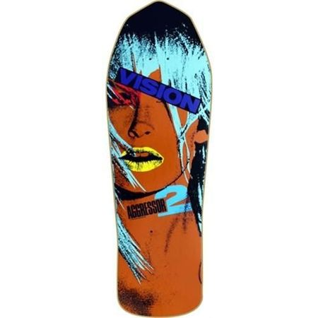 Vision The Aggresor 2 Turquoise - deck