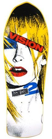 Vision The Aggresor 2 Yellow - deck