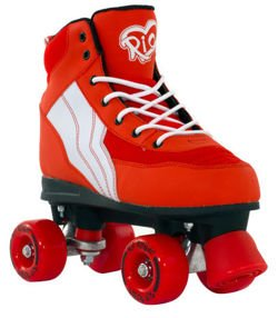 Wrotki Rio Roller Pure Red/White